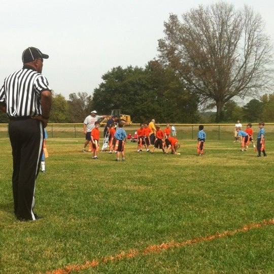 Photo taken at Lakeshore Park by Melinda K. on 9/30/2012
