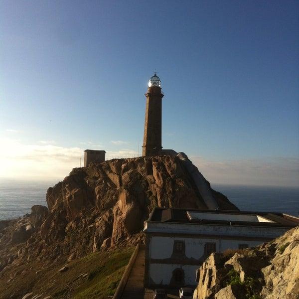 Photo taken at Faro de Cabo Vilán by Spain on 7/31/2013