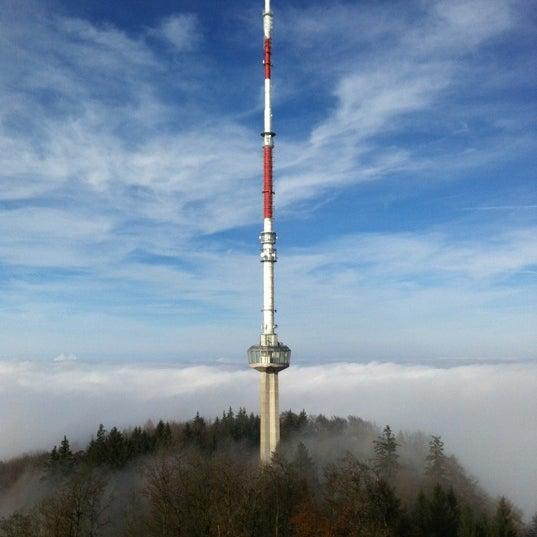 Снимок сделан в Uetliberg пользователем Petr N. 11/17/2012
