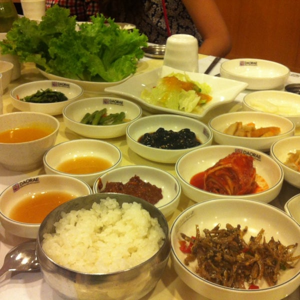 Photo taken at Daorae Korean BBQ Restaurant by JaneY.93 on 2/15/2014