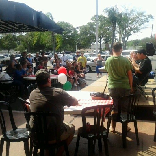 Photo taken at Toby's Original Little Italy Pizza by Kellie H. on 9/23/2012