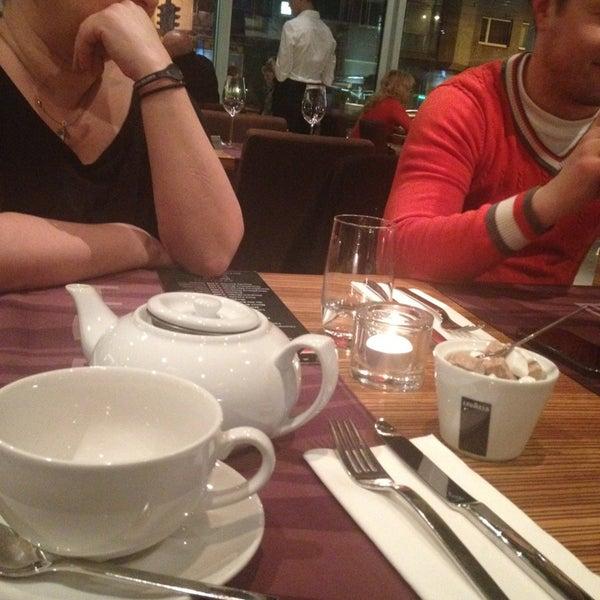 Photo taken at Zebra Café by Виктория on 2/22/2014