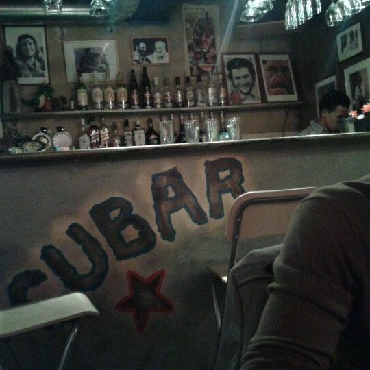 Снимок сделан в CUBAR пользователем Julia M. 9/22/2012