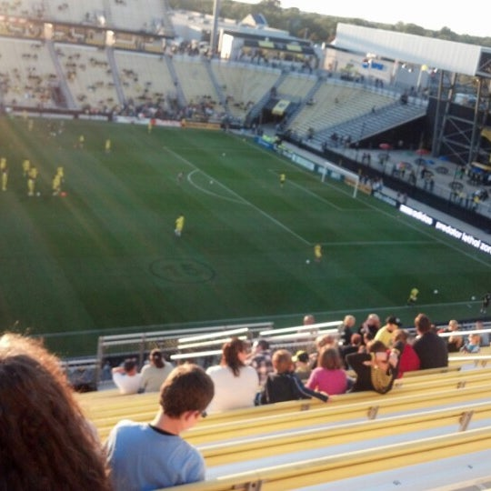 Photo taken at MAPFRE Stadium by Paul W. on 9/19/2012
