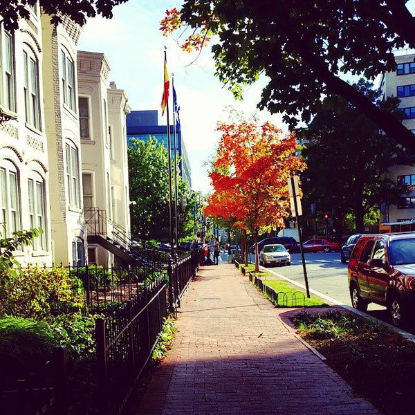Photo taken at The George Washington University by Mary Kate on 10/17/2014