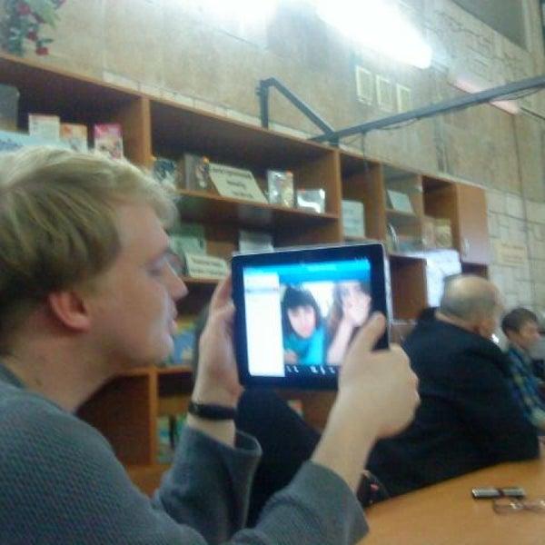 Снимок сделан в Центральная библиотека им. Кропивницкого / Kropyvnytsky Public Library пользователем Oleg D. 1/31/2013
