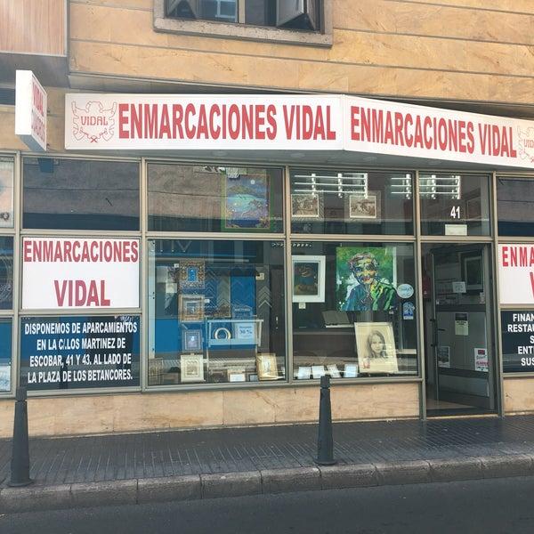 Enmarcaciones Vidal - Tienda de marcos en La Isleta