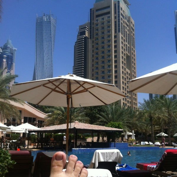 Photo taken at Habtoor Grand Resort, Autograph Collection by Jason L. on 4/8/2013