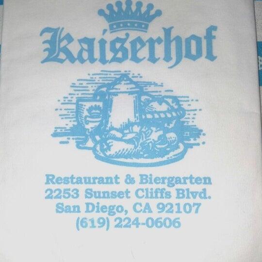 German Restaurant Ocean Beach San Diego