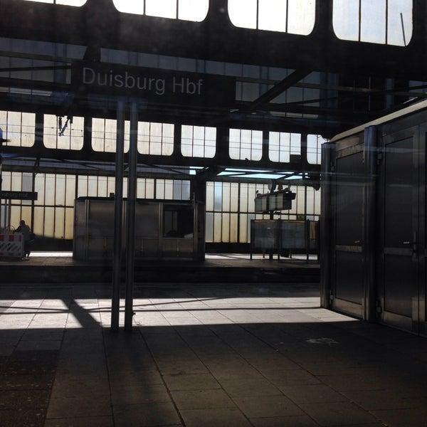 Photo taken at Duisburg Hauptbahnhof by Danijela . on 6/6/2014