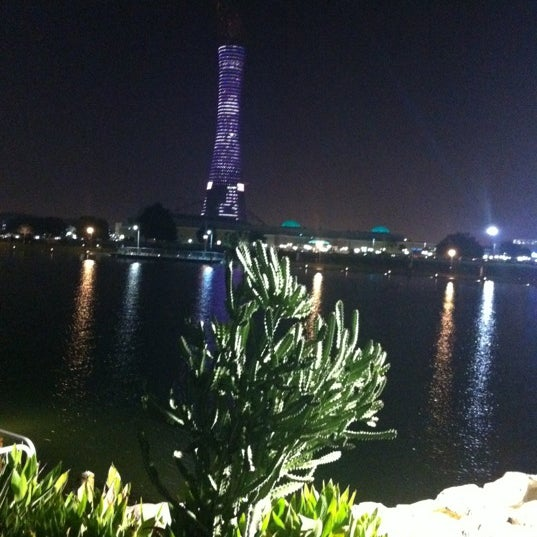 Photo taken at Aspire Park by K on 10/26/2012