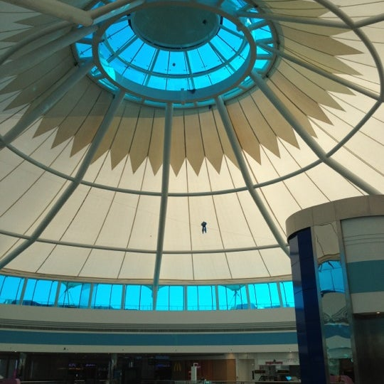 Photo taken at Mushrif Mall by Jose C. on 11/9/2012