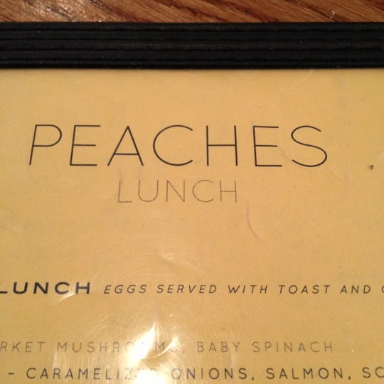 Photo taken at Peaches Restaurant by BreyKing on 10/16/2012