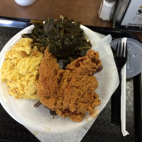 Photo taken at Nana's Soul Food Kitchen by Christopher P. on 4/29/2014