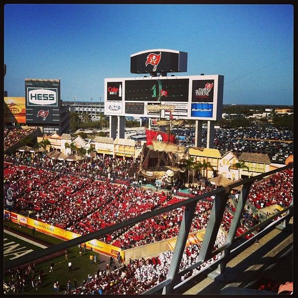Photo taken at Raymond James Stadium by Michelle on 1/1/2013