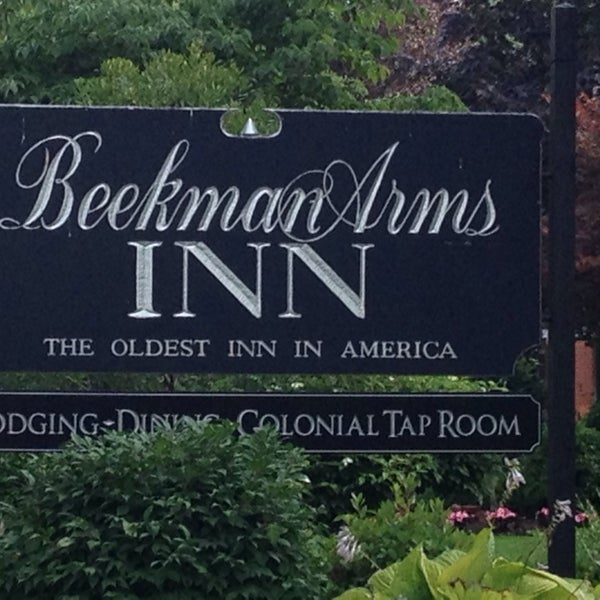 Photo taken at Beekman Arms-Delamater Inn by Nick M. on 7/22/2014