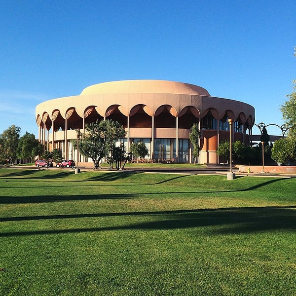 Photo taken at ASU Gammage by Mike T. on 3/22/2015