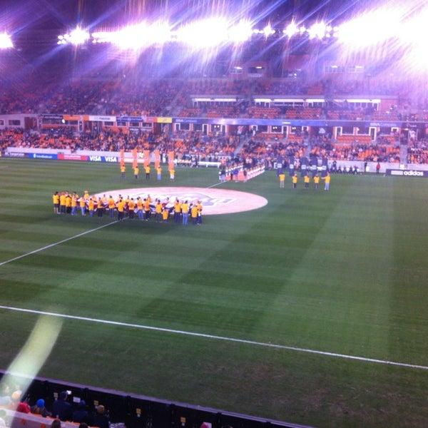 Photo prise au BBVA Compass Stadium par Morgan W. le3/3/2013