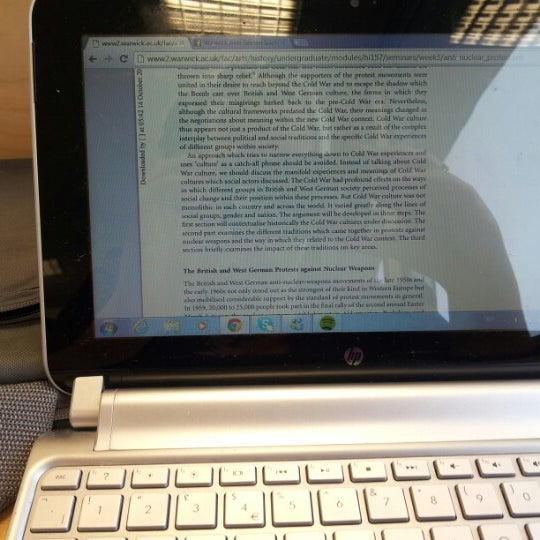 Photo taken at University of Warwick Library by Grace G. on 10/24/2012