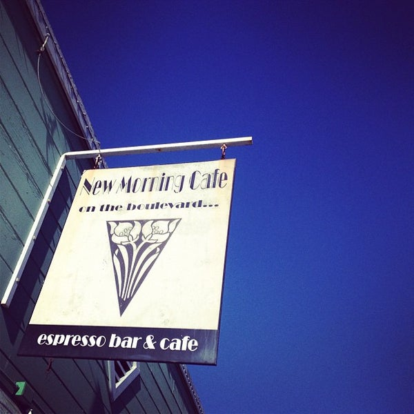 Photo taken at New Morning Cafe by Kristofer L. on 9/30/2012