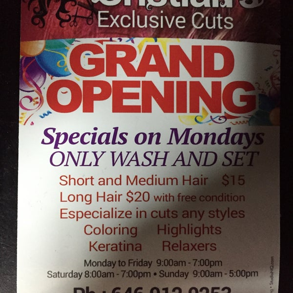 Cristians exclusive cuts - East Harlem - New York, NY