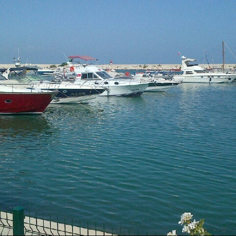 Photo taken at Mersin Marina by Haticee on 6/4/2013