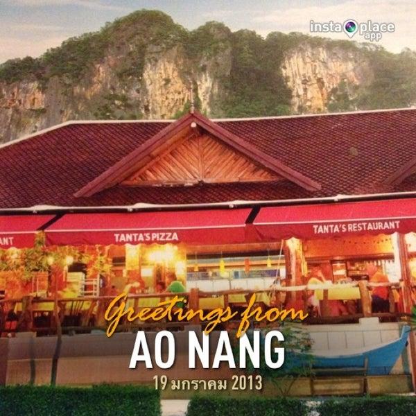 Снимок сделан в Tanta's Thai Restaurant пользователем Usasajee 1/19/2013