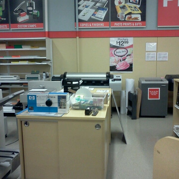 Photo Taken At Office Depot By Kelly T. On 3/12/2013