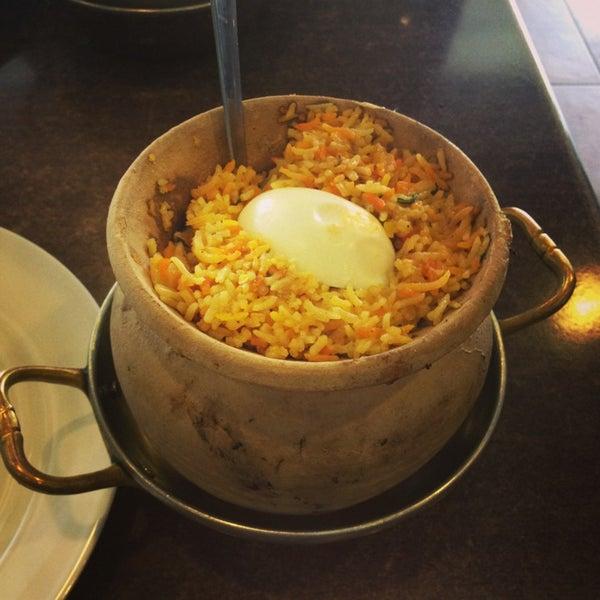 Nice pot briyani chicken!