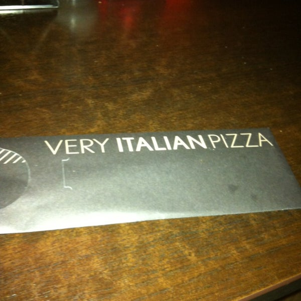 Photo taken at Very Italian Pizza by Anastasiya S. on 1/2/2013