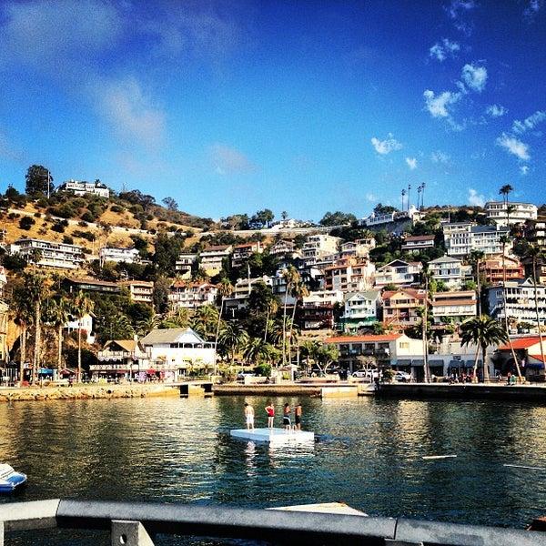 Photo taken at Santa Catalina Island by Maria E. on 7/7/2013
