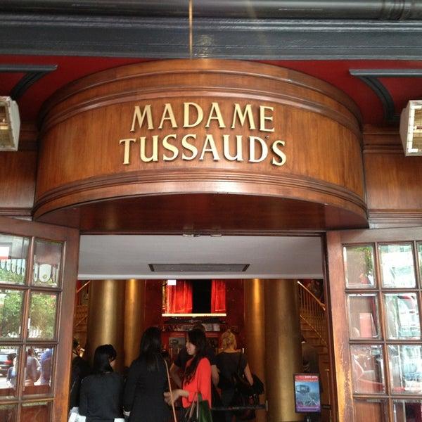 Photo taken at Madame Tussauds by Mari on 6/27/2013
