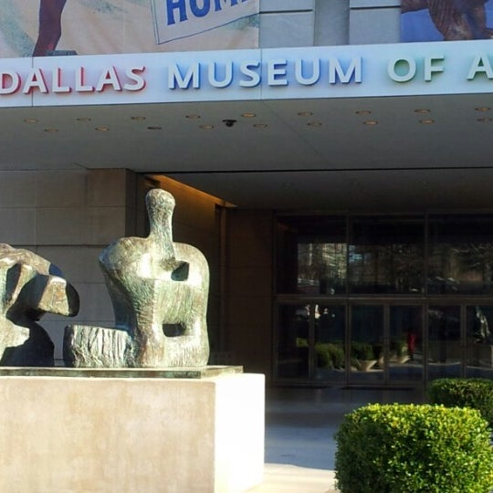 Photo taken at Dallas Museum of Art by Raquel S. on 2/2/2013