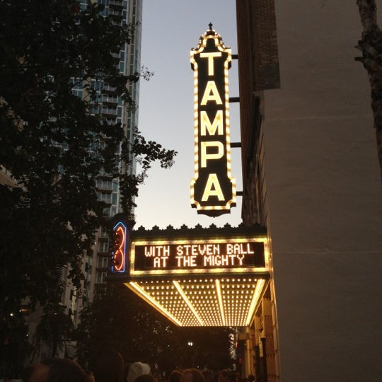 Photo taken at Tampa Theatre by Edward ⛵ J. on 10/13/2012