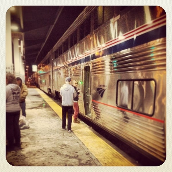 Photo taken at Denver Amtrak (DEN) by Travis F. on 12/31/2013