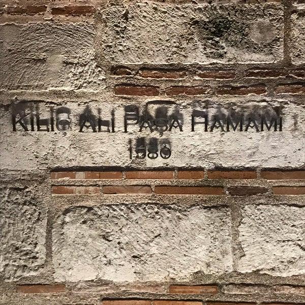 10/30/2017 tarihinde Will A.ziyaretçi tarafından Kılıç Ali Paşa Hamamı'de çekilen fotoğraf