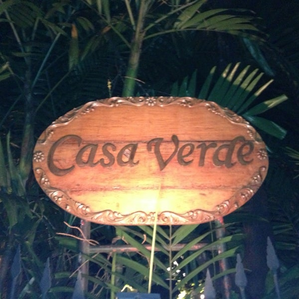 Photo taken at Casa Verde by Justin L. on 2/22/2013