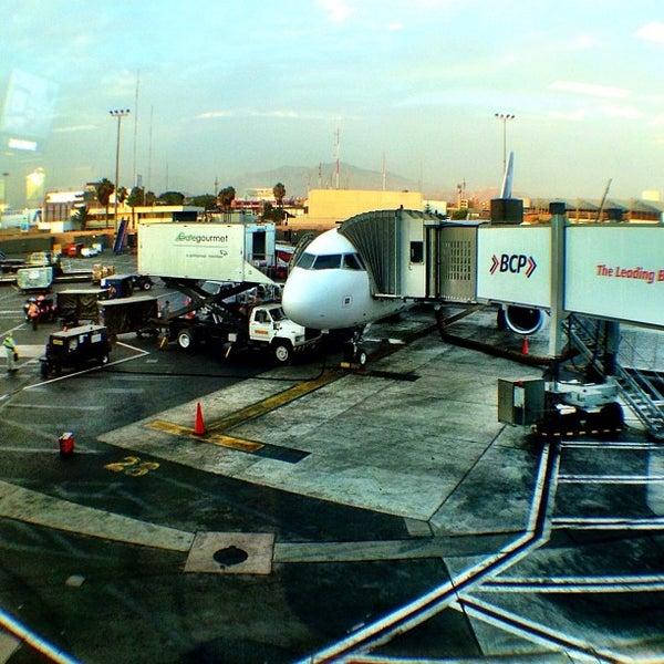 Photo taken at Jorge Chávez International Airport (LIM) by Ivo V. on 4/13/2013