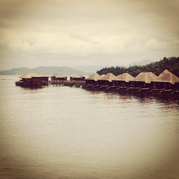 Photo taken at Gayana Eco Resort by Michael P. on 2/2/2014