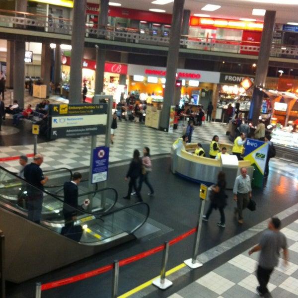 Снимок сделан в Международный аэропорт Конгоньяс/Сан-Паулу (CGH) пользователем Max S. 6/22/2013