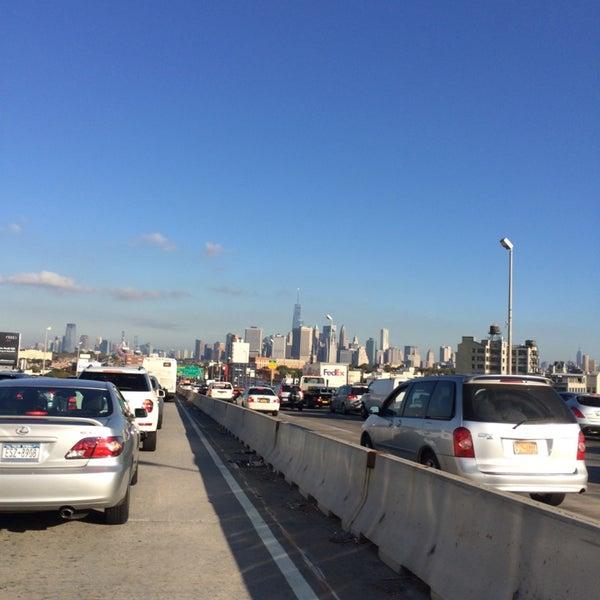 Photo taken at Hamilton Avenue Bridge by Davaish S. on 10/3/2014