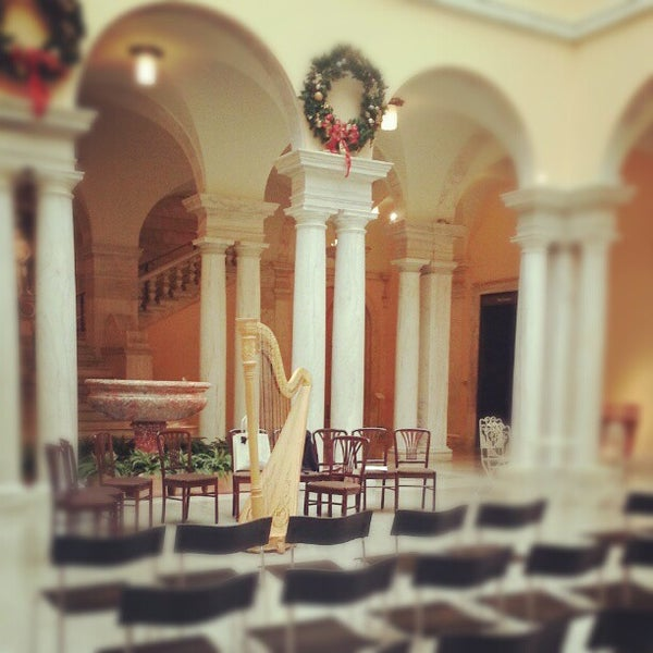 Photo taken at Walters Art Museum by Peggy H. on 12/7/2012
