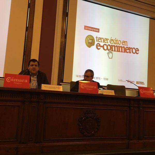 Foto tomada en Cámara de Comercio e Industria por CalvoConBarba el 12/18/2015