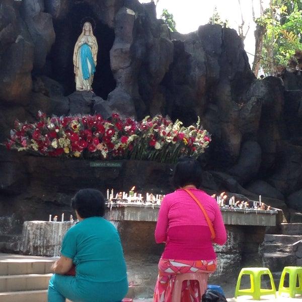 Photo taken at Gua Maria Kerep by Herry C. on 9/10/2016