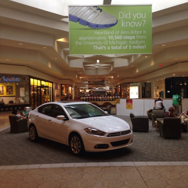 Photo taken at Briarwood Mall by Jon C. on 8/20/2013