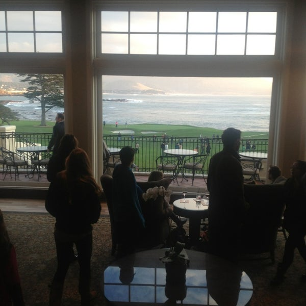 Photo taken at The Lodge at Pebble Beach by Victor G. on 12/30/2012