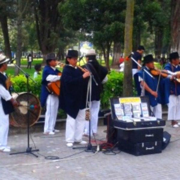Foto tomada en Parque El Ejido por Santiago V. el 5/25/2013