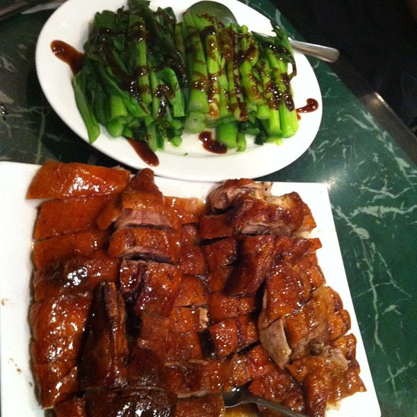 Photo taken at Sang Kee Peking Duck House by Christina T. on 10/17/2012