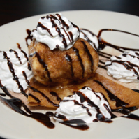 If you like fried food, they will fry ice cream for you!