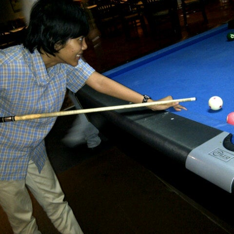 Photo taken at Rick's Cafe & Billiard by Dsasmita D. on 3/20/2013